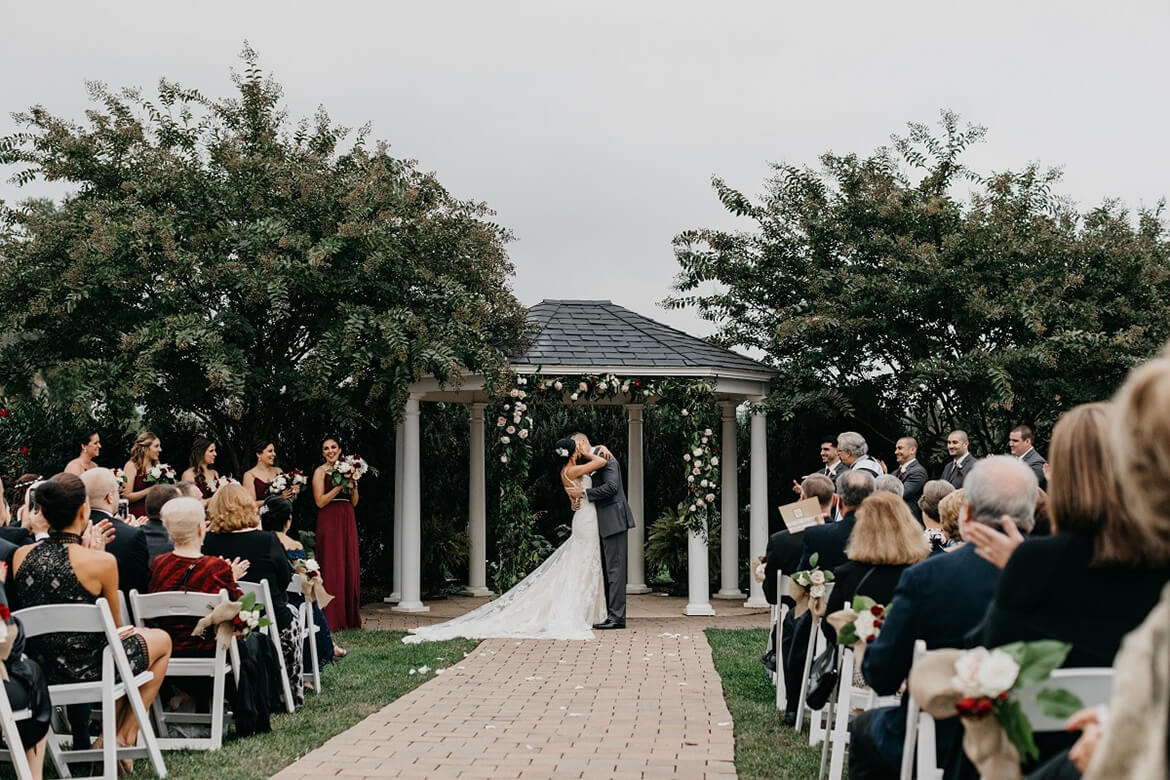 Ceremony at Gazebo