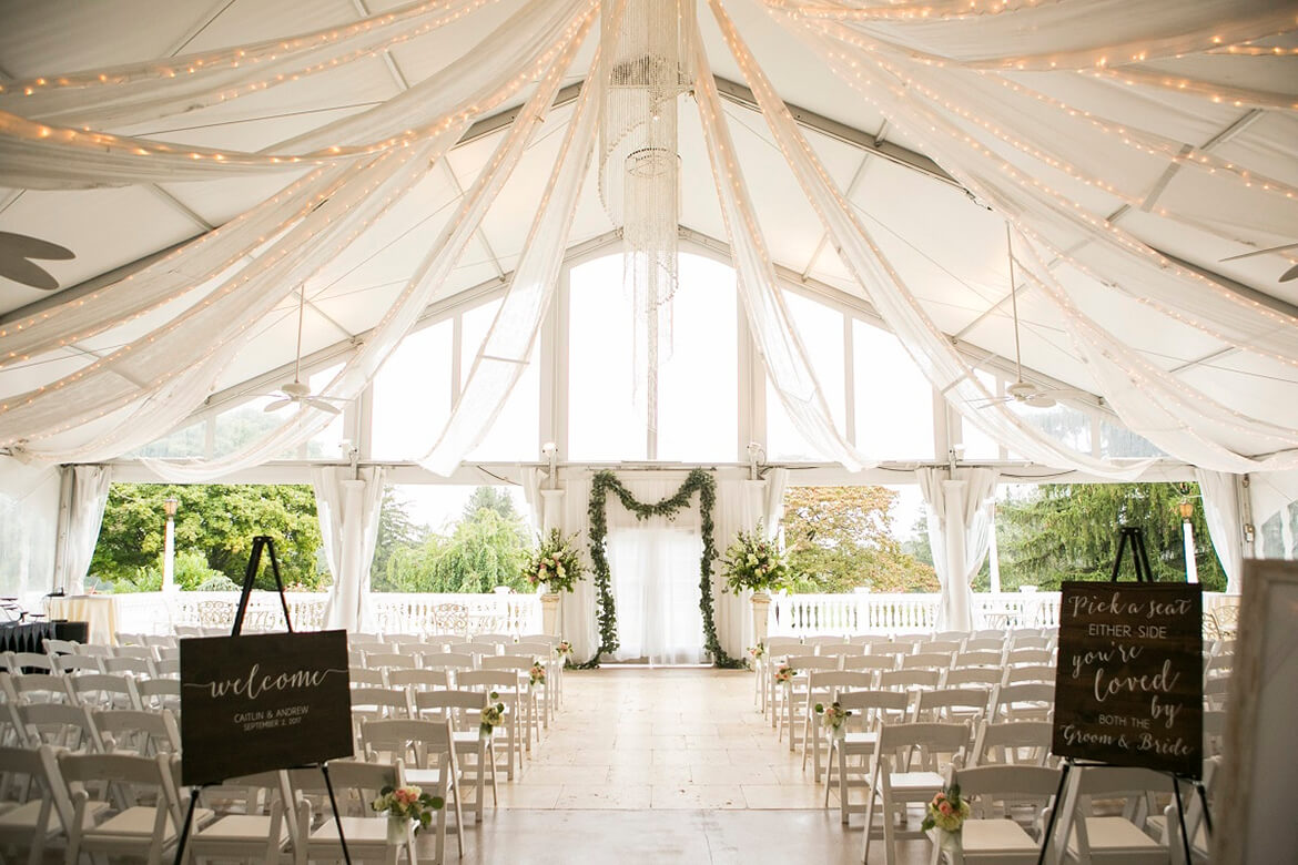 Ceremony in Tent